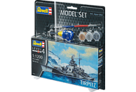 REVELL Tirpitz Bausatz, Mehrfarbig