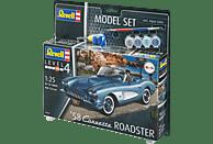 REVELL '58 Corvette Roadster Bausatz, Mehrfarbig