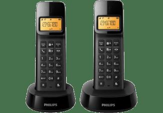 PHILIPS D1402B/53 Vezeték nélküli dual dect telefon