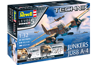 REVELL Junkers Ju-88 A-4 Bausatz, Mehrfarbig