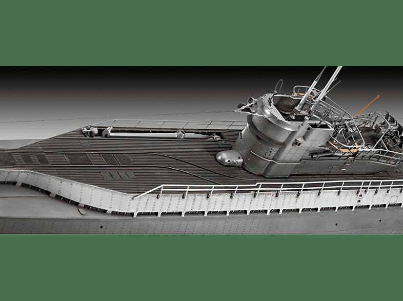 REVELL German Submarine Type IX C/40 Bausatz, Mehrfarbig