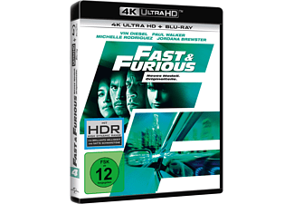 Fast & Furious - Neues Modell. Originalteile. 4K Ultra HD Blu-ray + Blu-ray