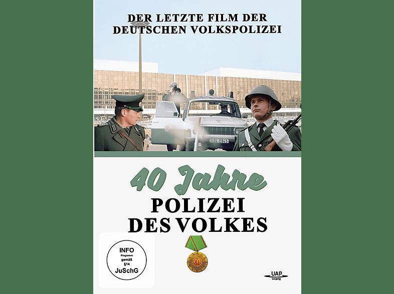 40 JAHRE VOLKSPOLIZEI - DER LETZTE FILM DER DEUTSC [DVD]