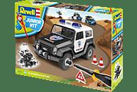REVELL Polizei-Geländewagen Bausatz, Mehrfarbig