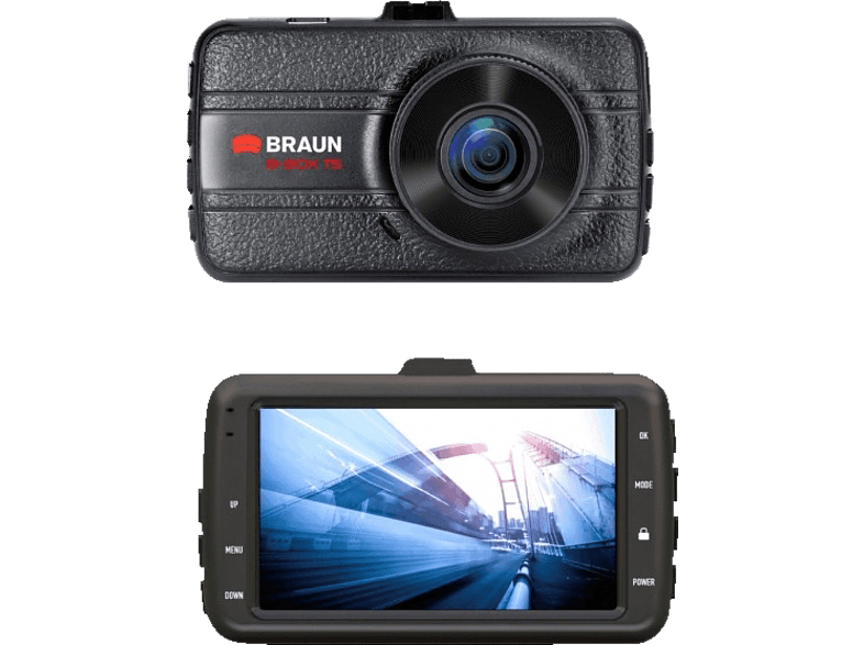 BRAUN PHOTOTECHNIK B-Box T5 Dashcam Full HD, 7.6 cm Display