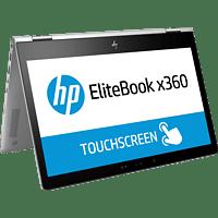 HP - B2B EliteBook x360 1030 G2, Convertible mit 13 Zoll Display, Core™ i5 Prozessor, 8 GB RAM, 512 GB SSD, Intel® HD-Grafik 620, Silber
