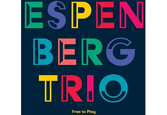 Espen Berg Trio - FREE TO PLAY  - (CD)