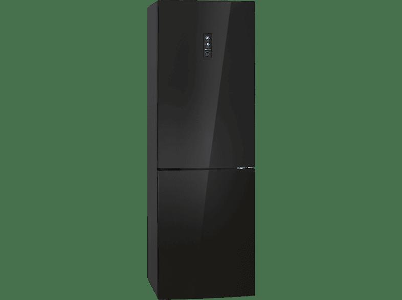 BOMANN KG 7312  Kühlgefrierkombination (A++, 242 kWh/Jahr, 1840 mm hoch, Schwarz)