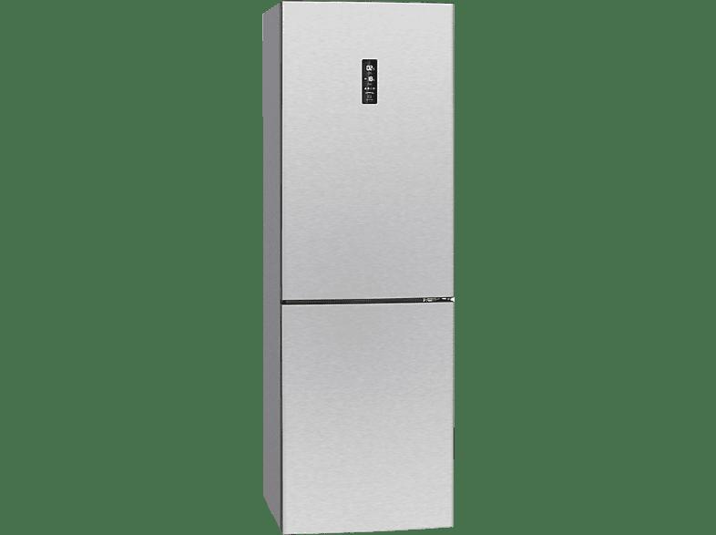 BOMANN KG 7312  Kühlgefrierkombination (A++, 242 kWh/Jahr, 1840 mm hoch, Edelstahl)