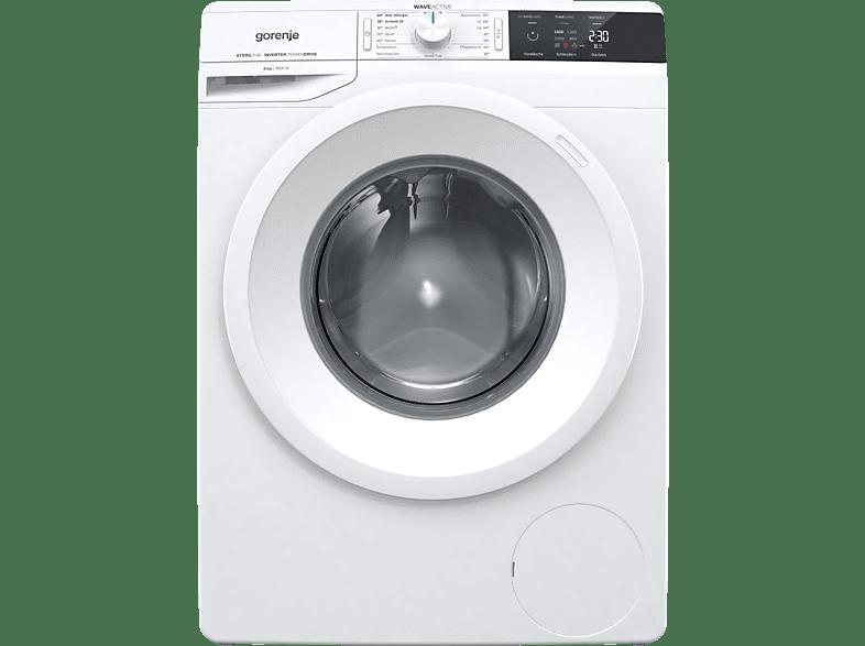 GORENJE WEI 863 P  Waschmaschine (8.0 kg, 1600 U/Min., A+++)