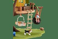 SCHLEICH Abenteuer Baumhaus Spielset, Mehrfarbig