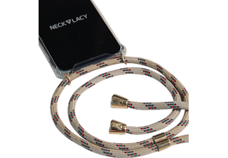 NECKLACY Necklace Case Classic Birch, Backcover, Huawei, P30, Champagne/Transparent