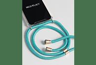 NECKLACY Necklace Case Ocean Spirit , Backcover, Samsung, Galaxy S10, Thermoplastisches Polyurethan, Türkis/Transparent