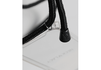 NECKLACY Necklace Case All Black, Backcover, Huawei, P30, Schwarz/Transparent