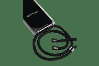 NECKLACY Necklace Case All Black, Backcover, Huawei, P30 Lite, Schwarz/Transparent