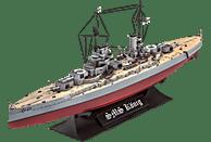 REVELL WWI Battleship SMS König Bausatz, Mehrfarbig