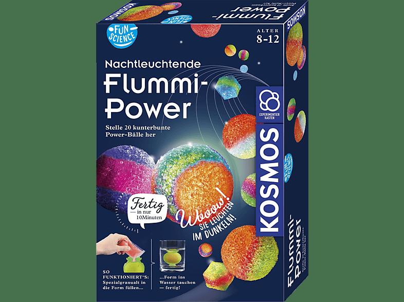 KOSMOS Nachtleuchtende Flummi-Power Experimentierset, Mehrfarbig