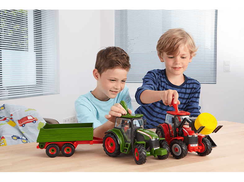REVELL Traktor mit Lader und Figur Bausatz, Mehrfarbig