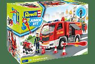 REVELL Feuerwehr mit Figur Modellbausatz, Mehrfarbig
