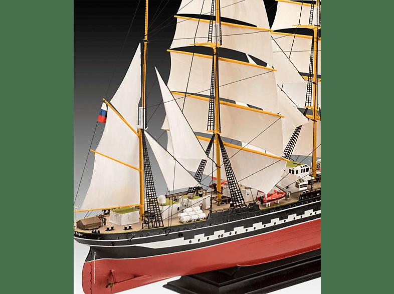 REVELL Russian Barque Kruzenshtern Bausatz, Mehrfarbig