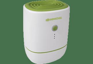 SONNENKÖNIG 10100151 Secco Piccolo Luftentfeuchter Weiß/Grün (22 Watt, Entfeuchterleistung: 0,0092 Liter/Std., Raumgröße: 25 m³)