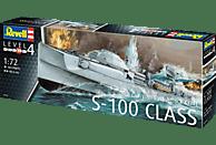 REVELL Schnellboot S-100 Bausatz, Mehrfarbig