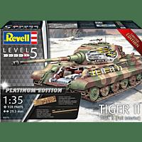 REVELL Tiger II Modellbausatz, Mehrfarbig