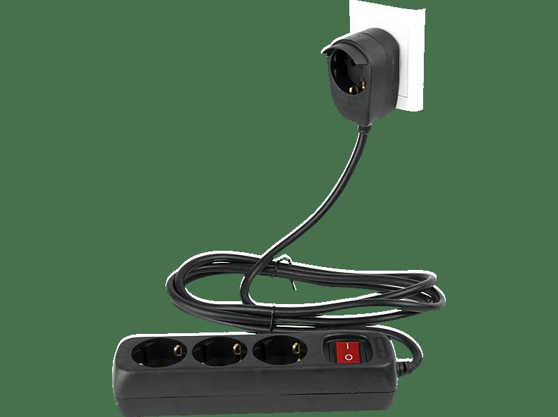 REV Powersplit 3+1-fach mit Schalter Steckdosenleiste