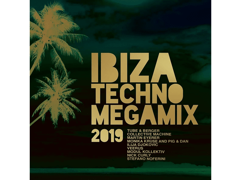 VARIOUS - Ibiza Techno Megamix 2019 [CD]
