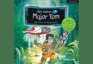 Der Kleine Major Tom - 08: Verloren Im Regenwald (Hörspiel)  - (CD)