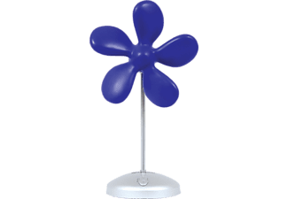 SONNENKÖNIG 10500931 Flower Fan Tischventilator Blau (9 Watt)