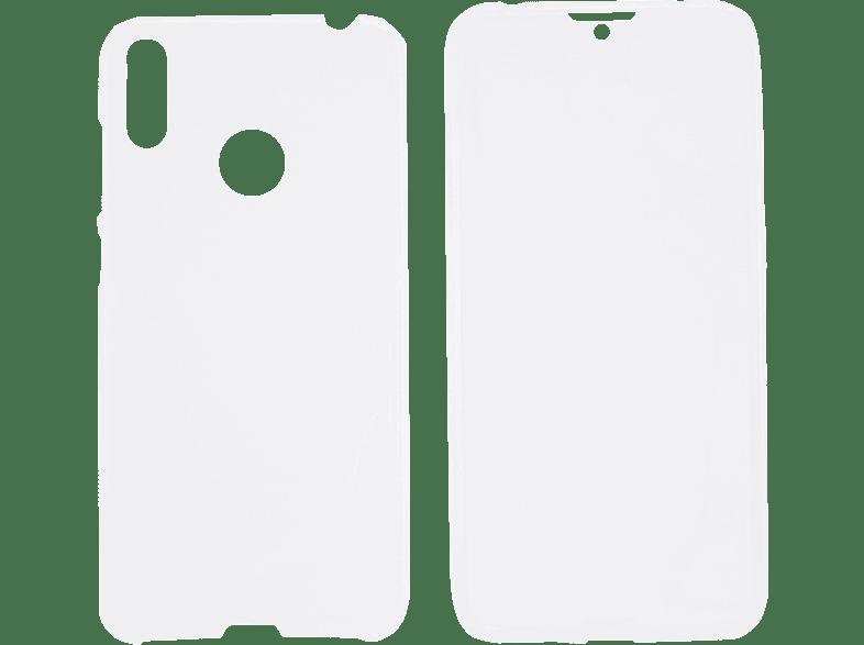 V-DESIGN V-LV 105 , Full Cover, Huawei, Y7 (2019), Thermoplastisches Polyurethan, Transparent