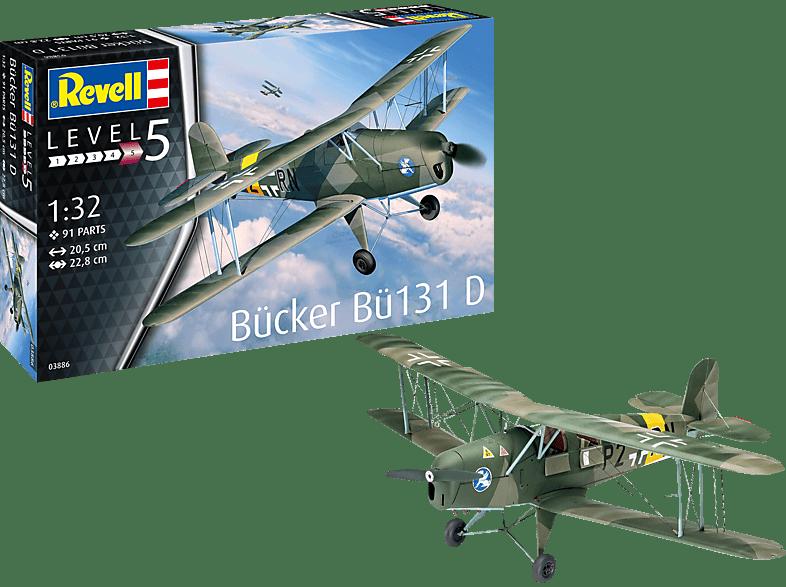 REVELL Bücker Bü131 Jungmann Bausatz, Mehrfarbig