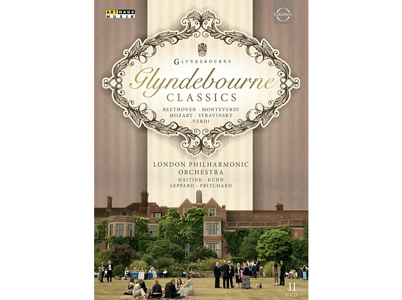 VARIOUS, The London Philharmonic Orchestra - Glyndebourne Festival-Classics [DVD]