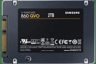 SAMSUNG 860 QVO, 2 TB SSD, 2.5 Zoll, intern
