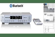 LENCO KCR-100 Küchenradio (UKW, Silber)