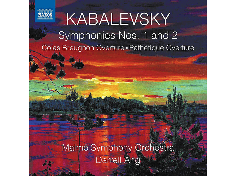 Malmö Symphony Orchestra - Sinfonien 1 and 2 [CD]