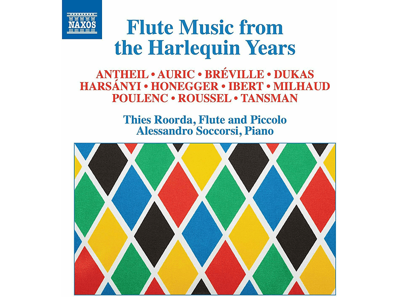 Alessandro Soccorsi, Roorda Thies - Flute Music from the Harlequin Years [CD]