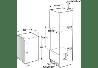 GORENJE Einbau-Kühlschrank Weiß 131l RI4092E1