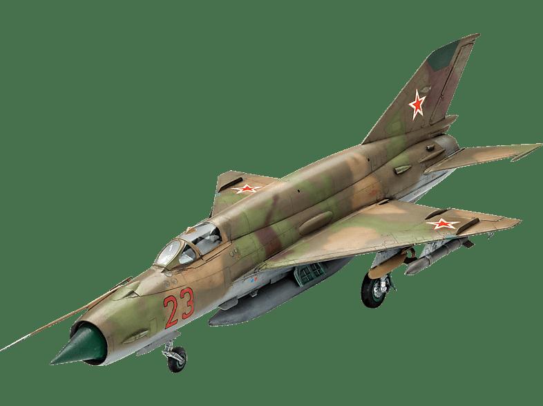 REVELL Mig-21 SMT Bausatz, Mehrfarbig