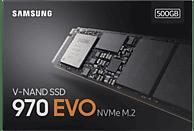 SAMSUNG NVMe SSD 970 Evo, 500 GB SSD, intern