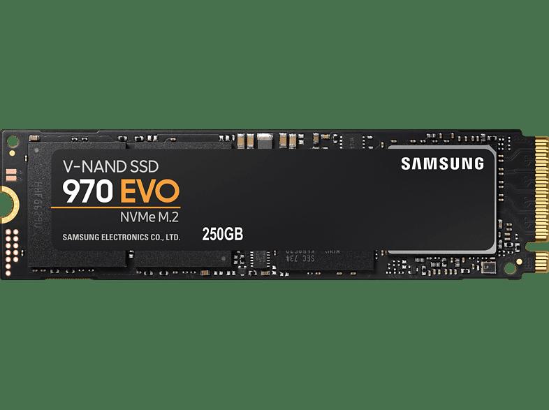 SAMSUNG NVMe SSD 970 Evo, 250 GB SSD, intern
