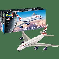 REVELL A380-800 British Airways Modellbausatz, Mehrfarbig