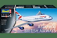 REVELL A380-800 British Airways Bausatz, Mehrfarbig