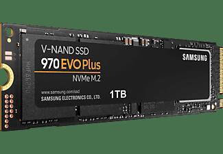 SAMSUNG 970 EVO Plus Festplatte Retail, 1 TB SSD M.2 via NVMe, intern