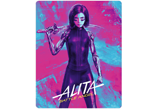 Alita: Battle Angel (+ Bonus) (4 Disks) 4K Ultra HD Blu-ray + 3D Blu-ray + Blu-ray
