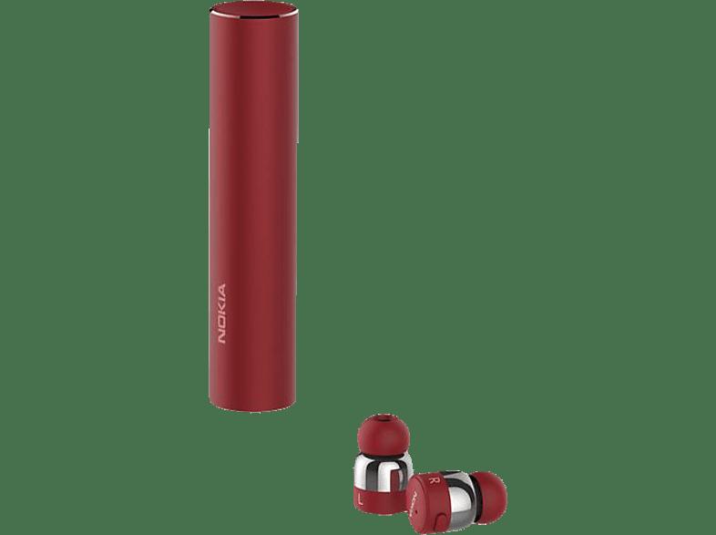 NOKIA BH-705, In-ear True-Wireless-Kopfhörer Bluetooth Rot