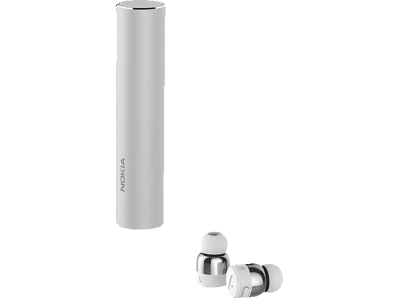 NOKIA BH-705, In-ear True-Wireless-Kopfhörer Bluetooth Silber