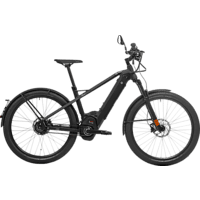 HNF-NICOLAI XD2 URBAN 19 L/XL Urbanbike (27.5 Zoll, 49.5 cm, 500 Watt, Schwarz)