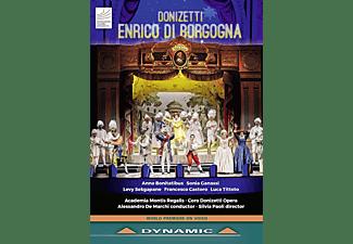 VARIOUS - Enrico di Borgogna  - (DVD)